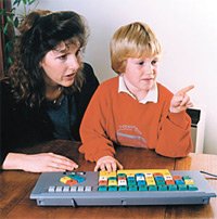 Teacher and student with BigKeys
